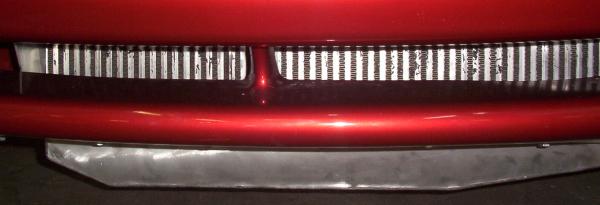 Mustang intercooler and bumber mount