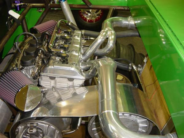 RX1 sandbuggy dual exhaust
