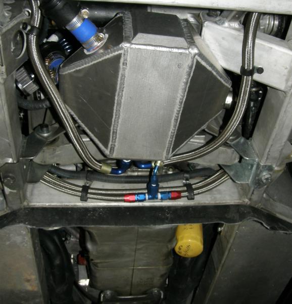Shelby series 1 intercooler retank
