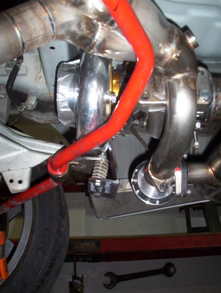 Stainless NSX turbo header