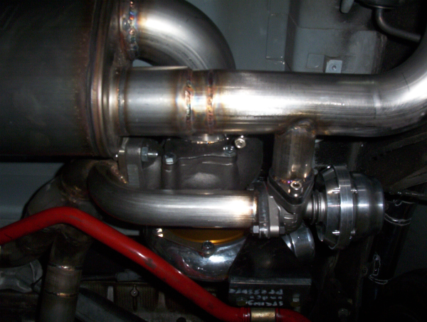 Turbo NSX wategate details