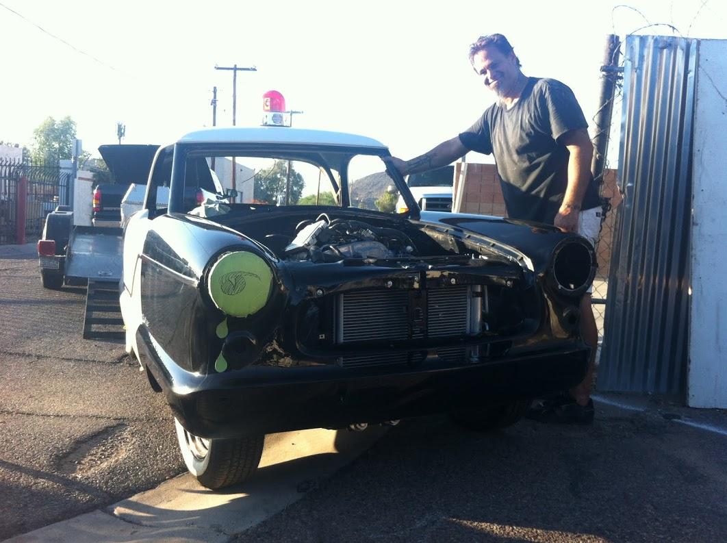 Elvis's police car has left the building
