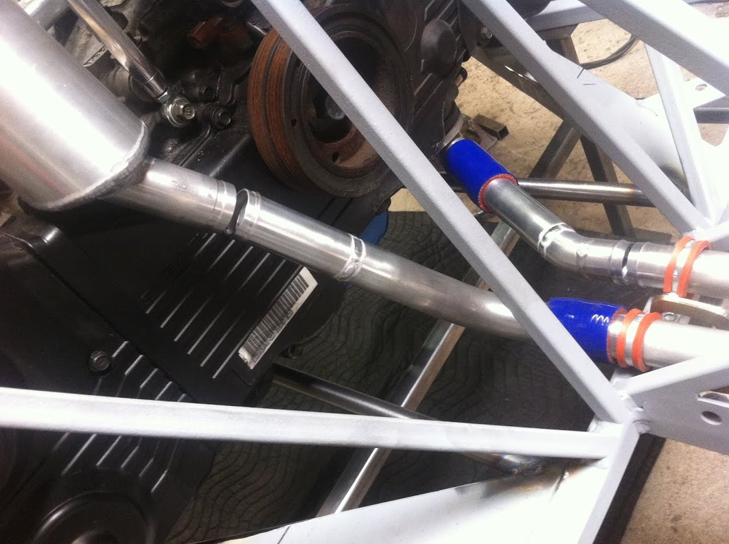 And water pipes for the rear too.