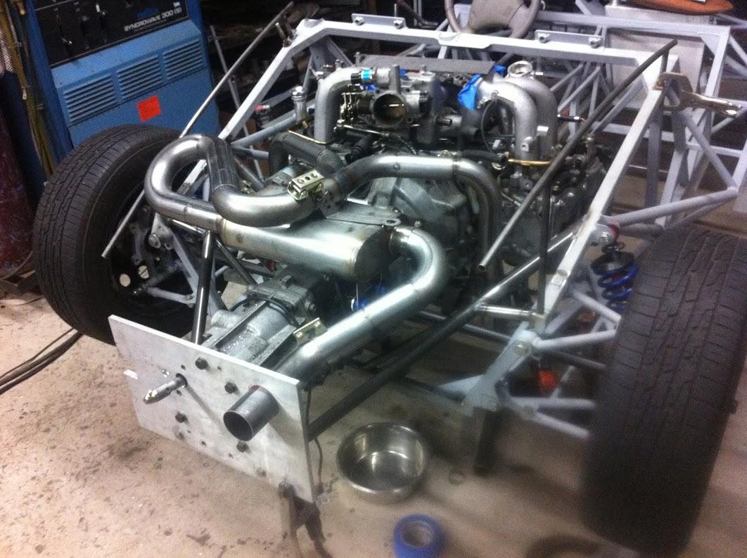 Full custom J20 exhaust system