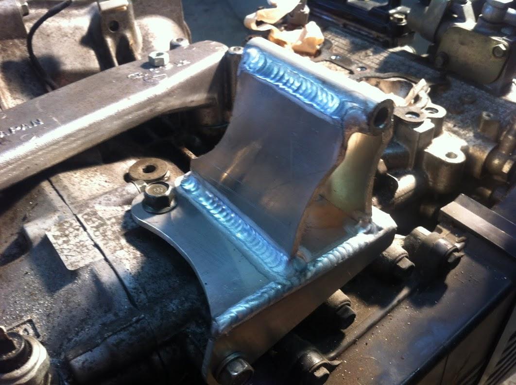 New Subaru alternator mount