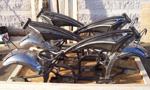 Custom motorcycles ready to ship