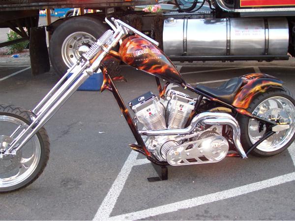 Death row prototype bike