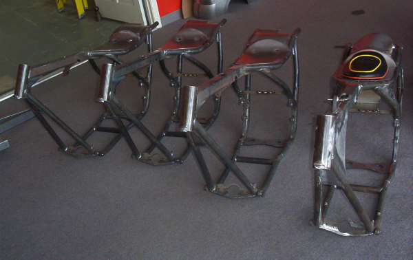 HD and the Marlboro man movie bike replicas