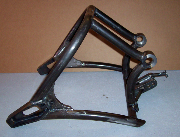 Lethal Injection swing arm side view