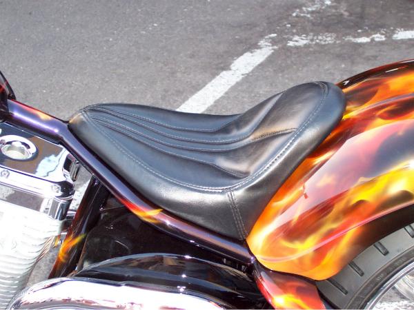 Seat pan details