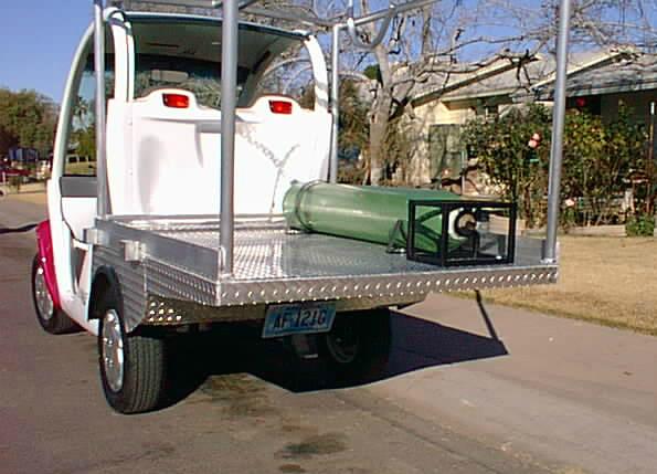 Track pit cart