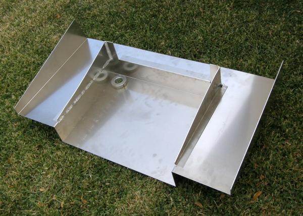 Aluminum Cobra gas tank