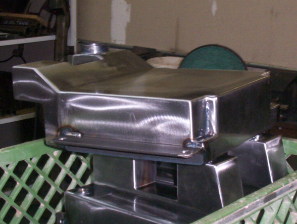 Motorcycle Oil Tanks