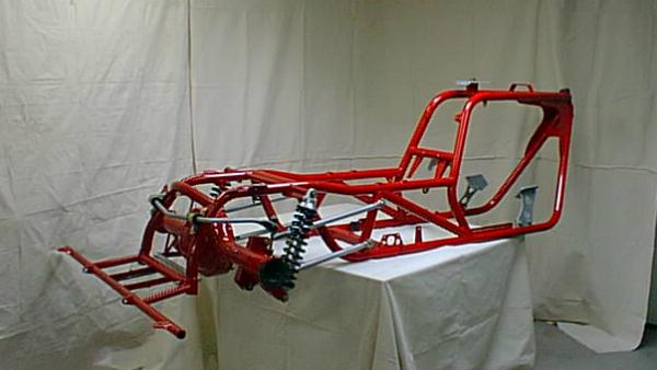 V8 Trike frame, suspension and mounts