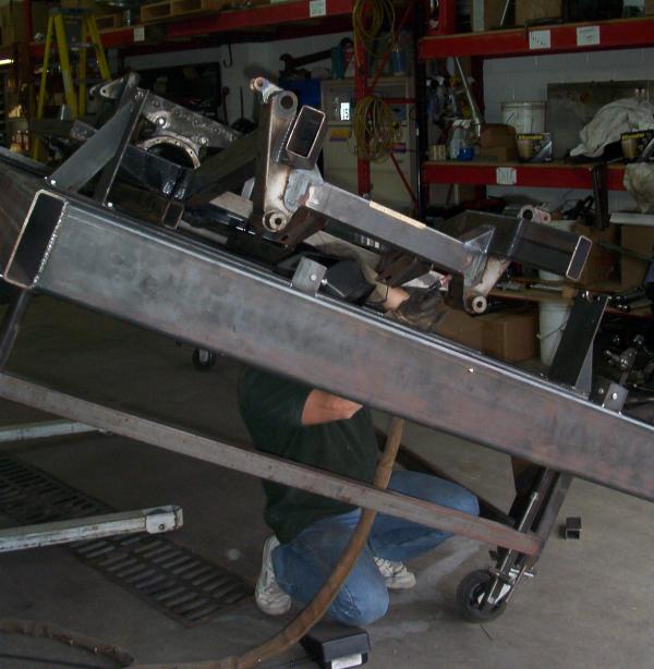 Cobra custom chassis