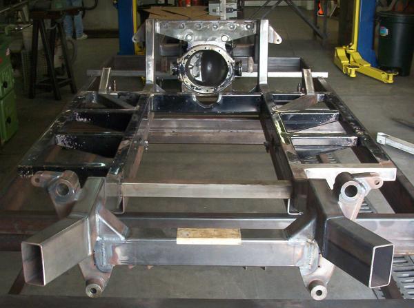 Cobra frame on custom chassis
