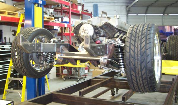 Cobra kit car custom frame
