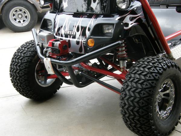 Hot rod golf cart custom suspension