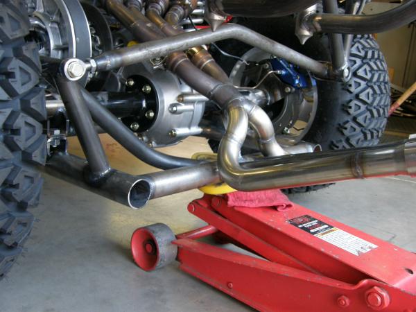 Hot Rod golf cart panhard rod