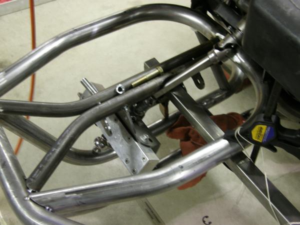 Custom Golf Cart Steering Shaft clearance