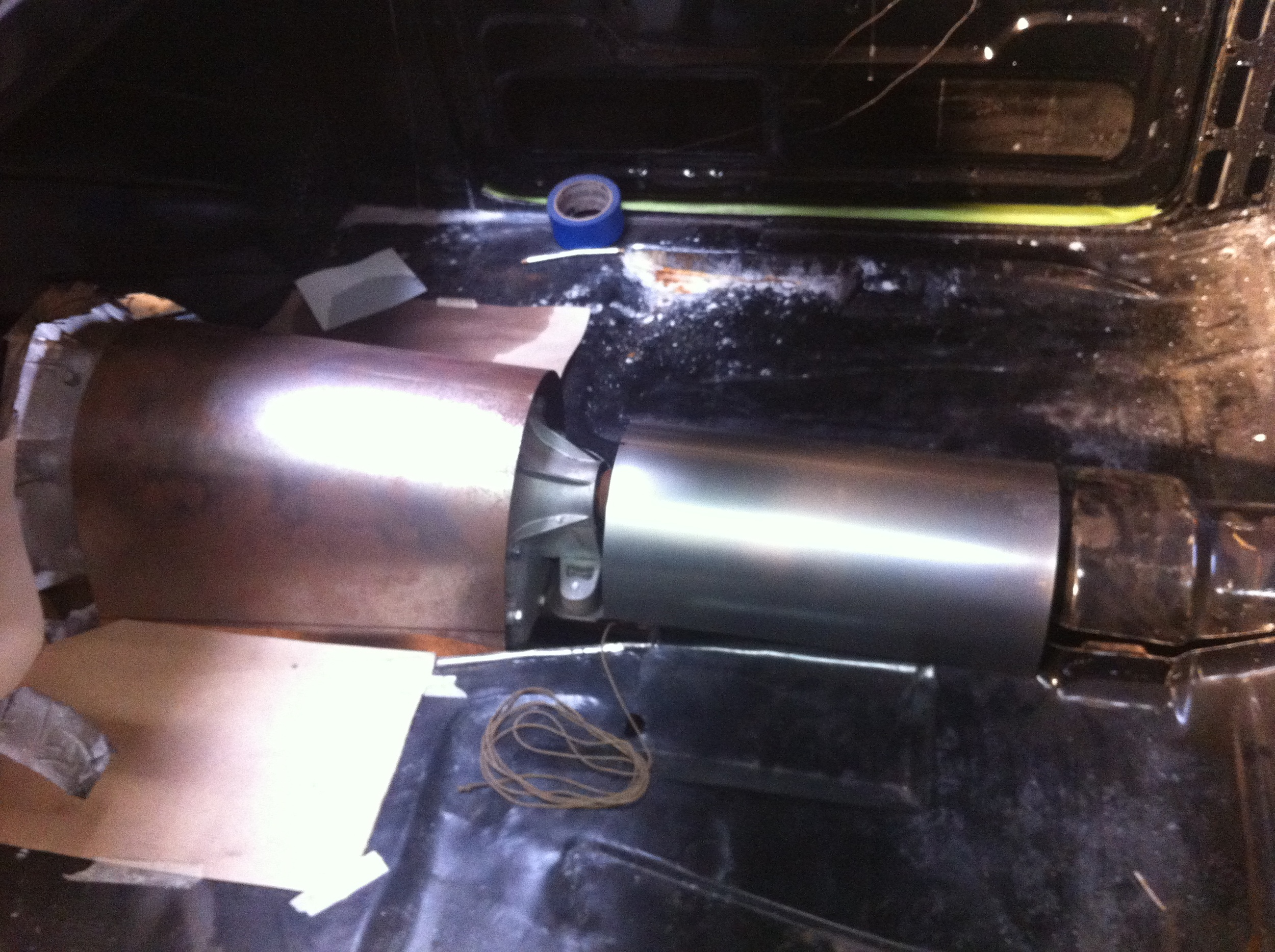 reworking the transmission tunnel.JPG