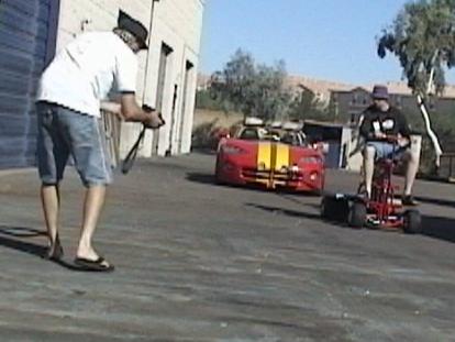Race car hauler.