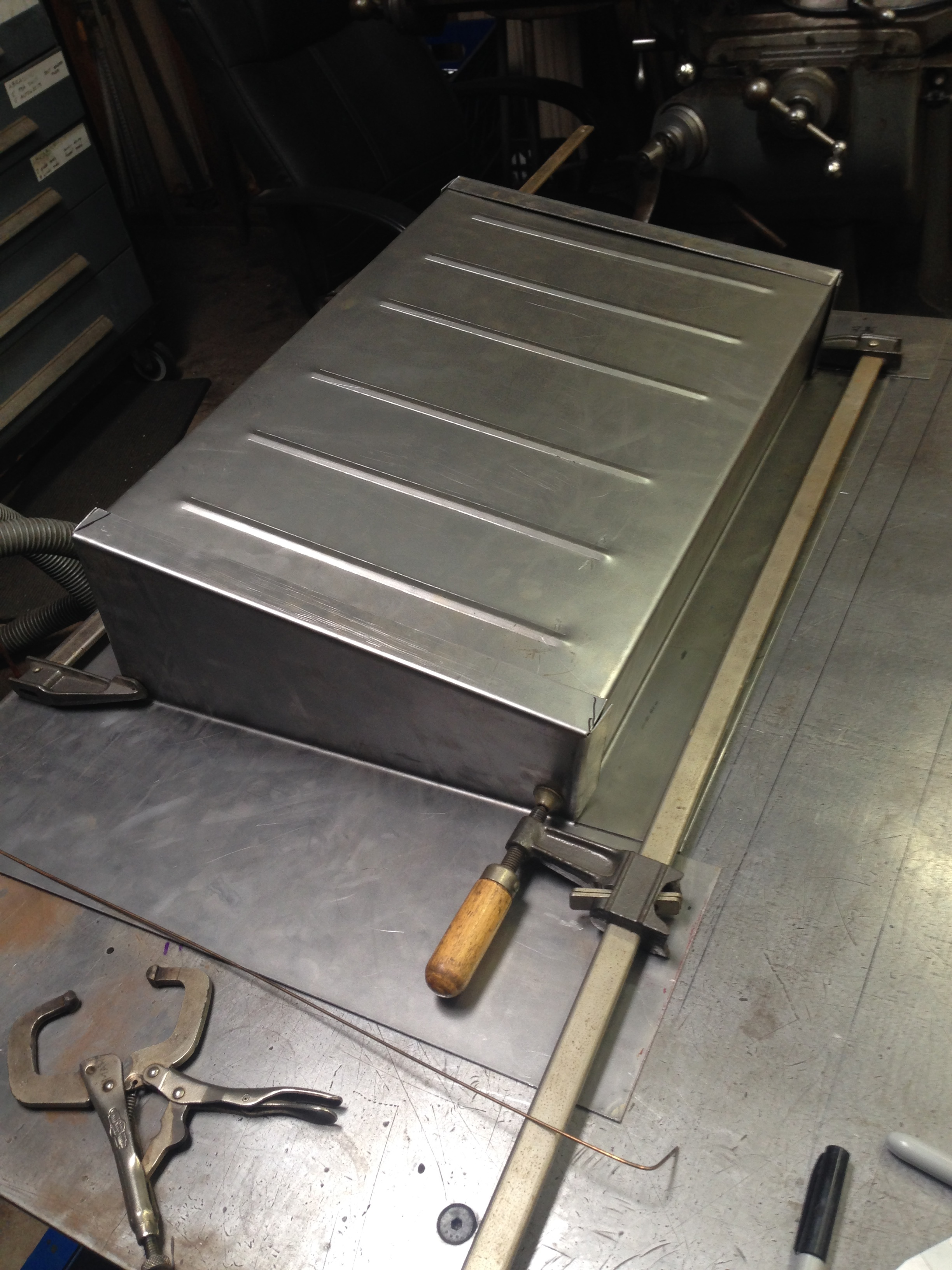 Package and battery tray for VW Baja
