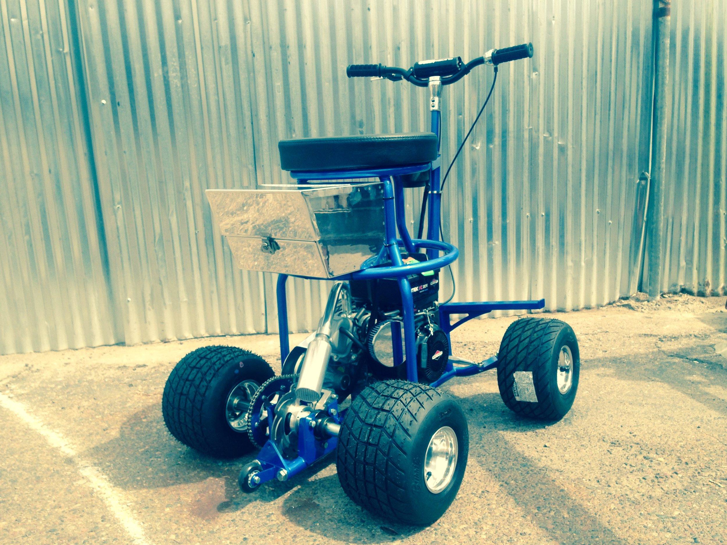 Electric Start Barstool Racer
