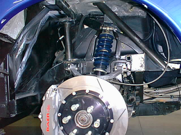 Viper rear shock mount supports