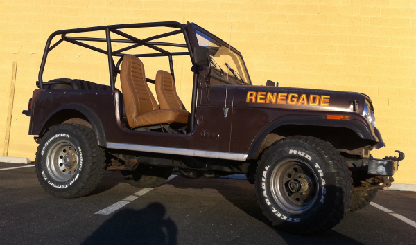 Jeep CJ replacement cage