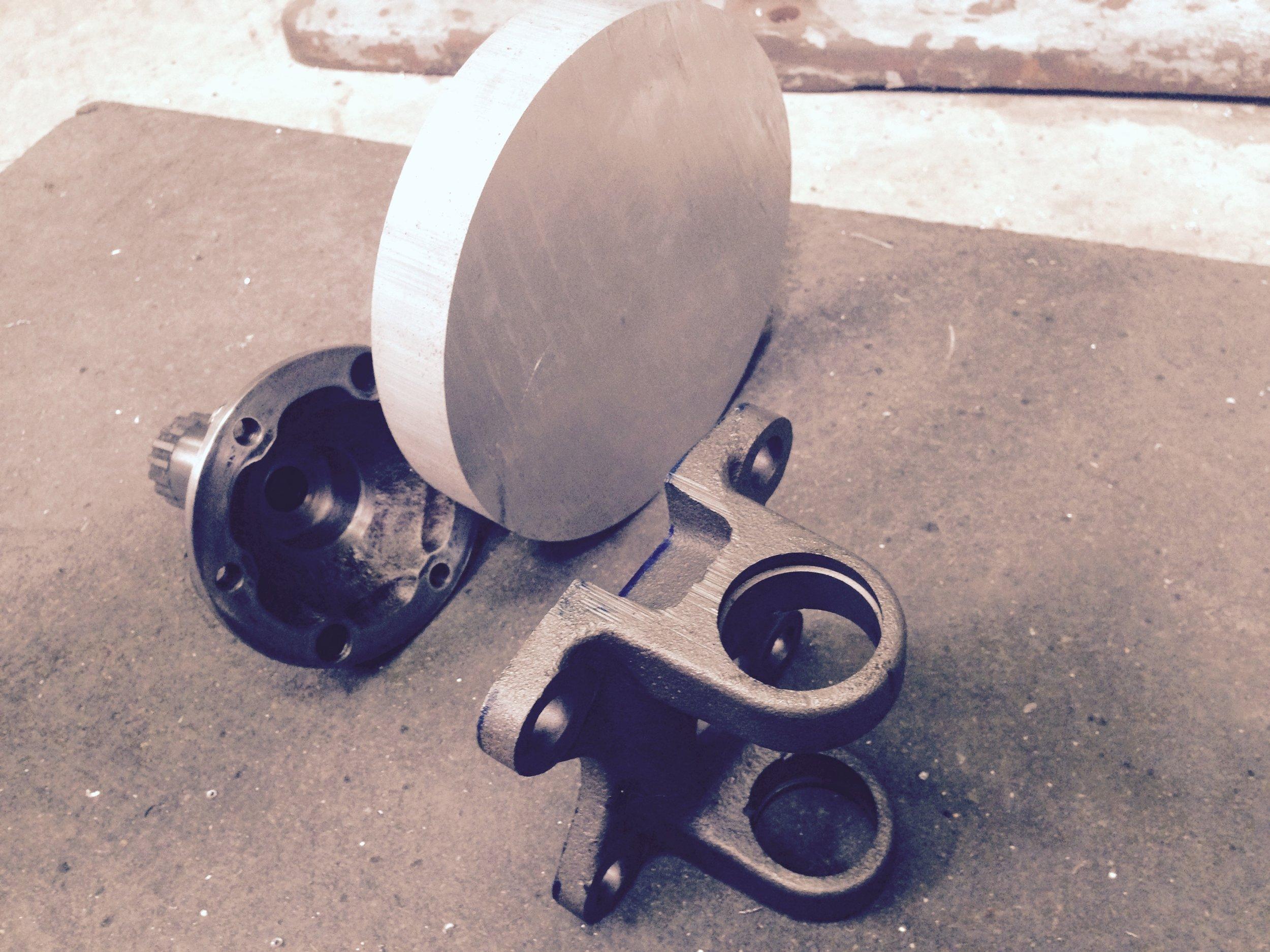 custom suspension part fabrication