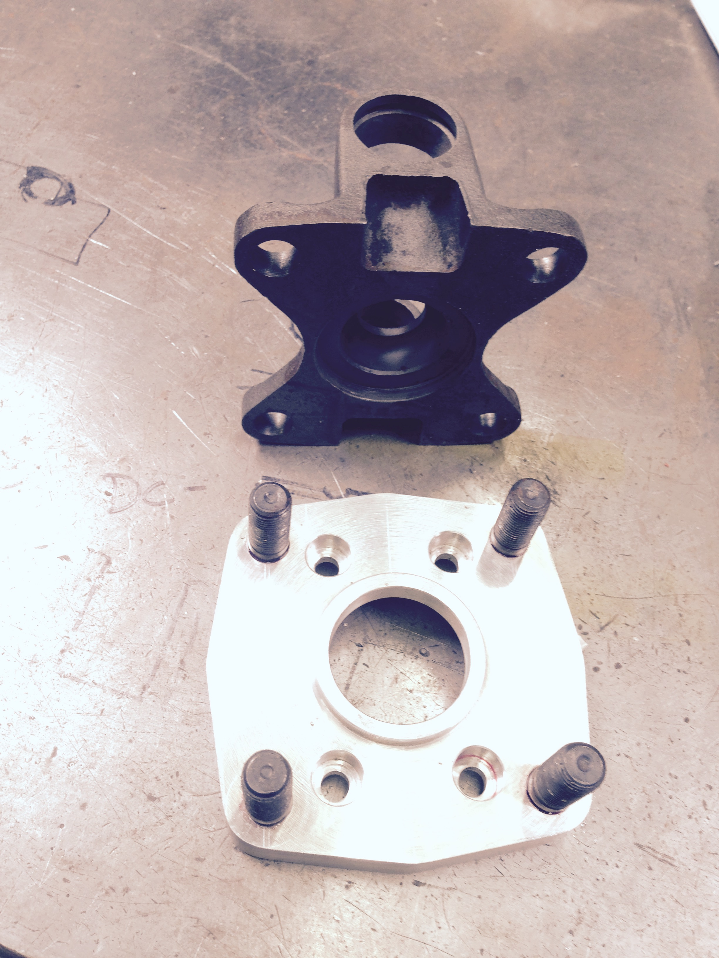 custom suspension part