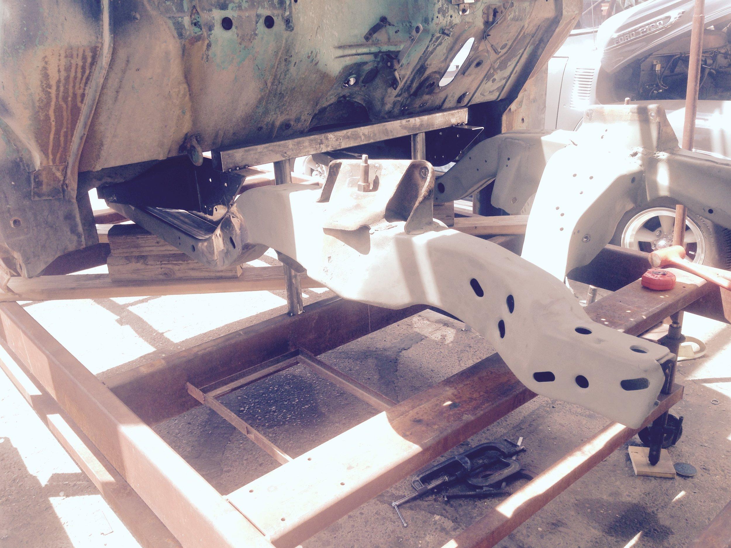 camaro front suspension install
