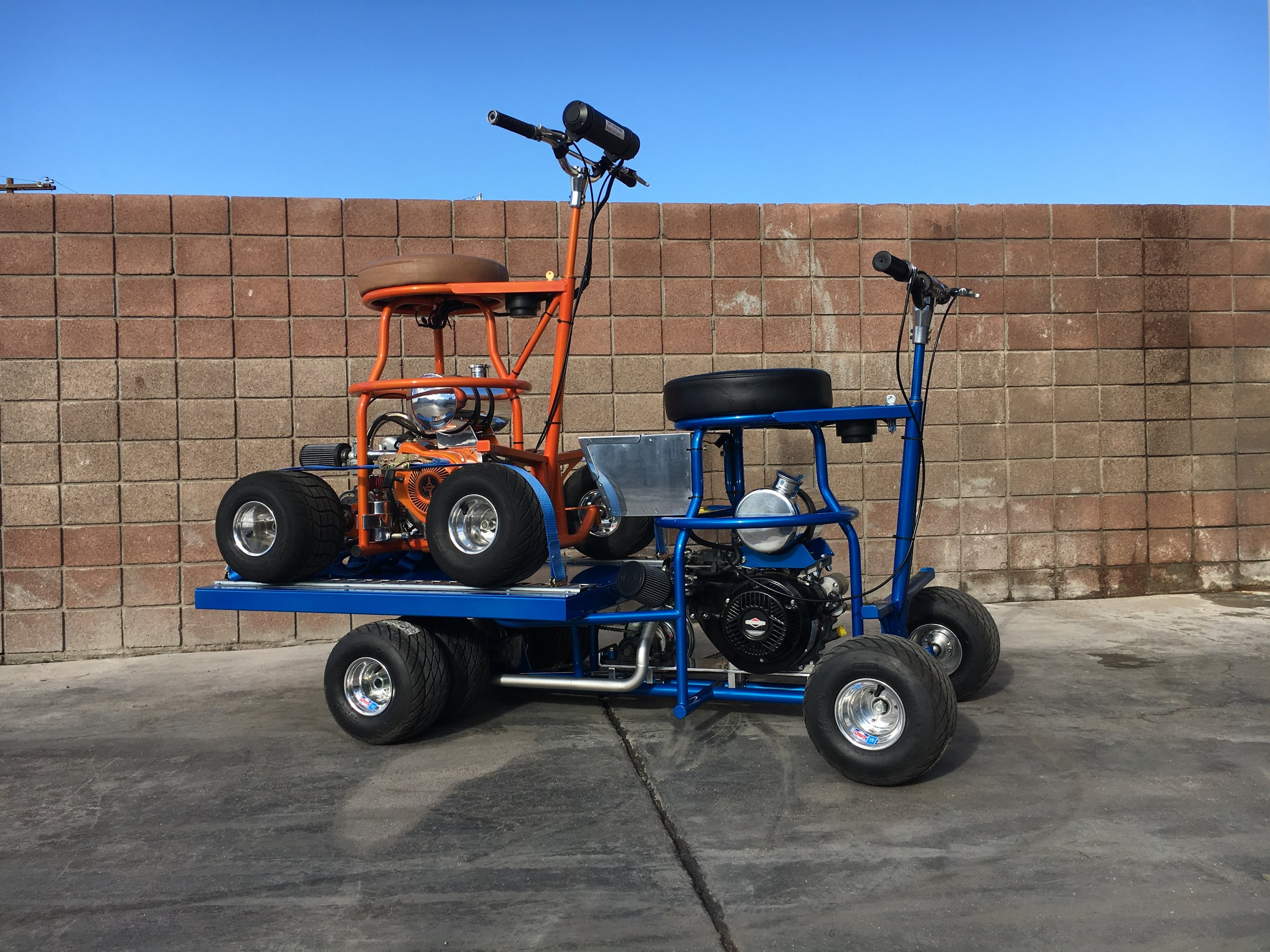 Big Chicken Barstool Racer and Truck