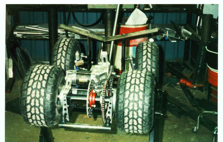 Spacejunk Barstool Racer build