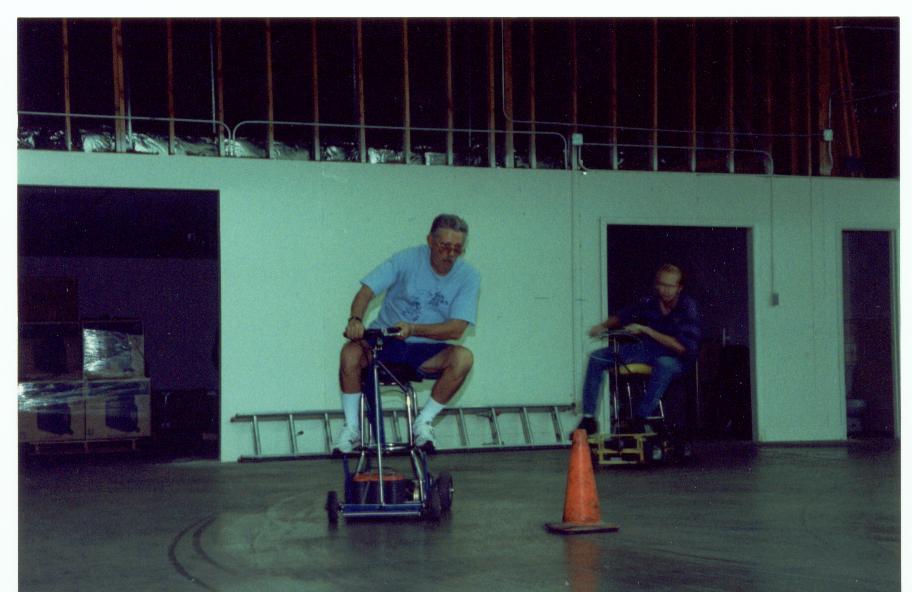 Indoor Barstool Racing