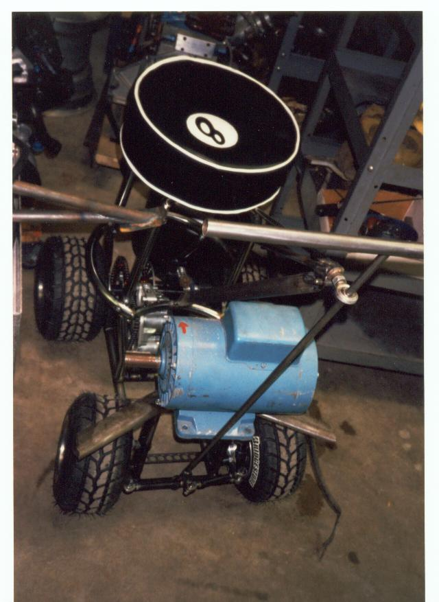 Electric Barstool Racer