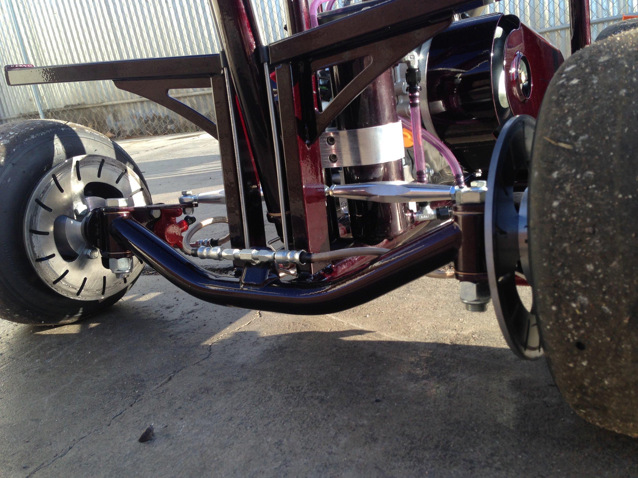 Barstool racer built for stoppies