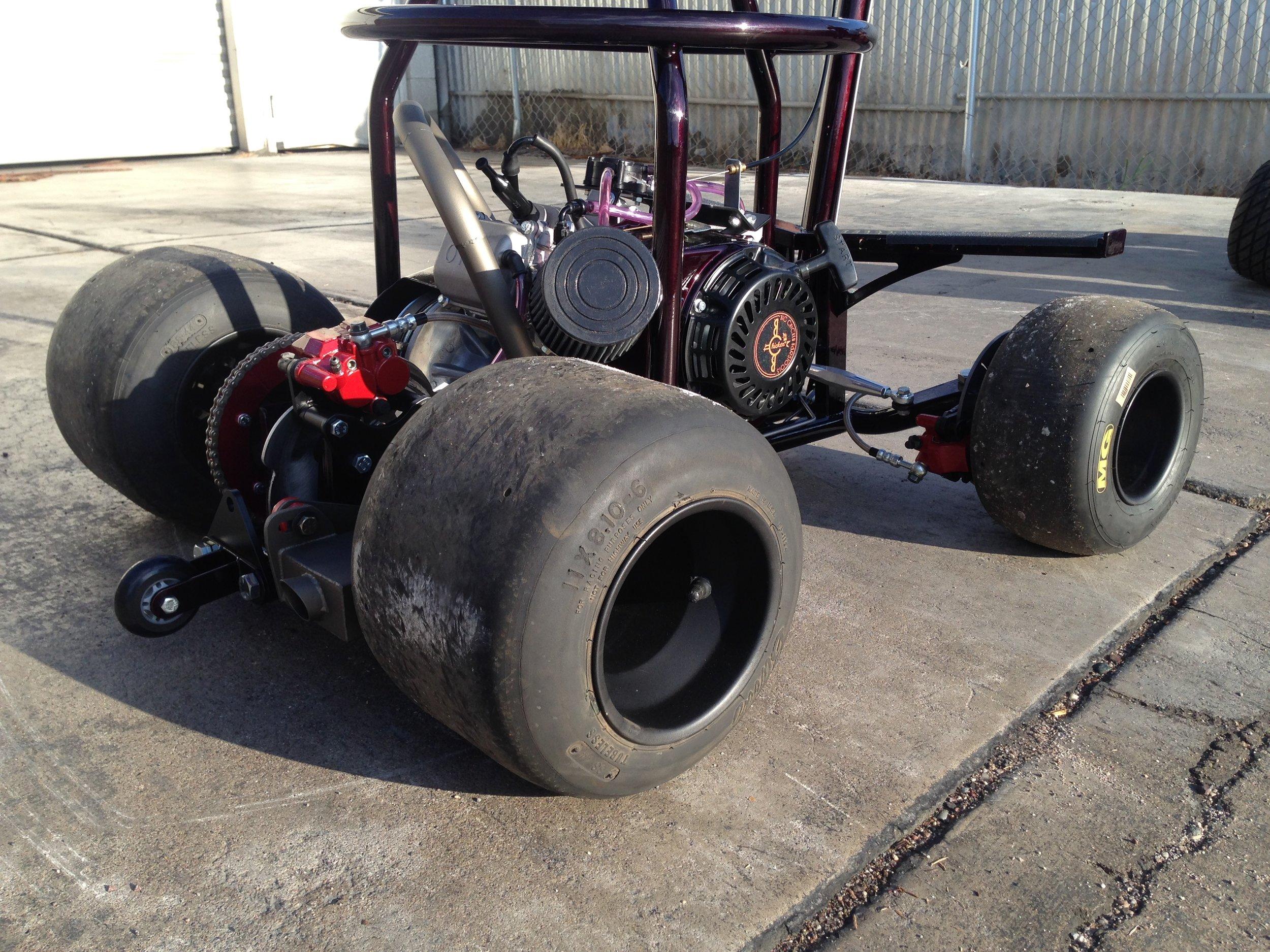 Custom barstool racer