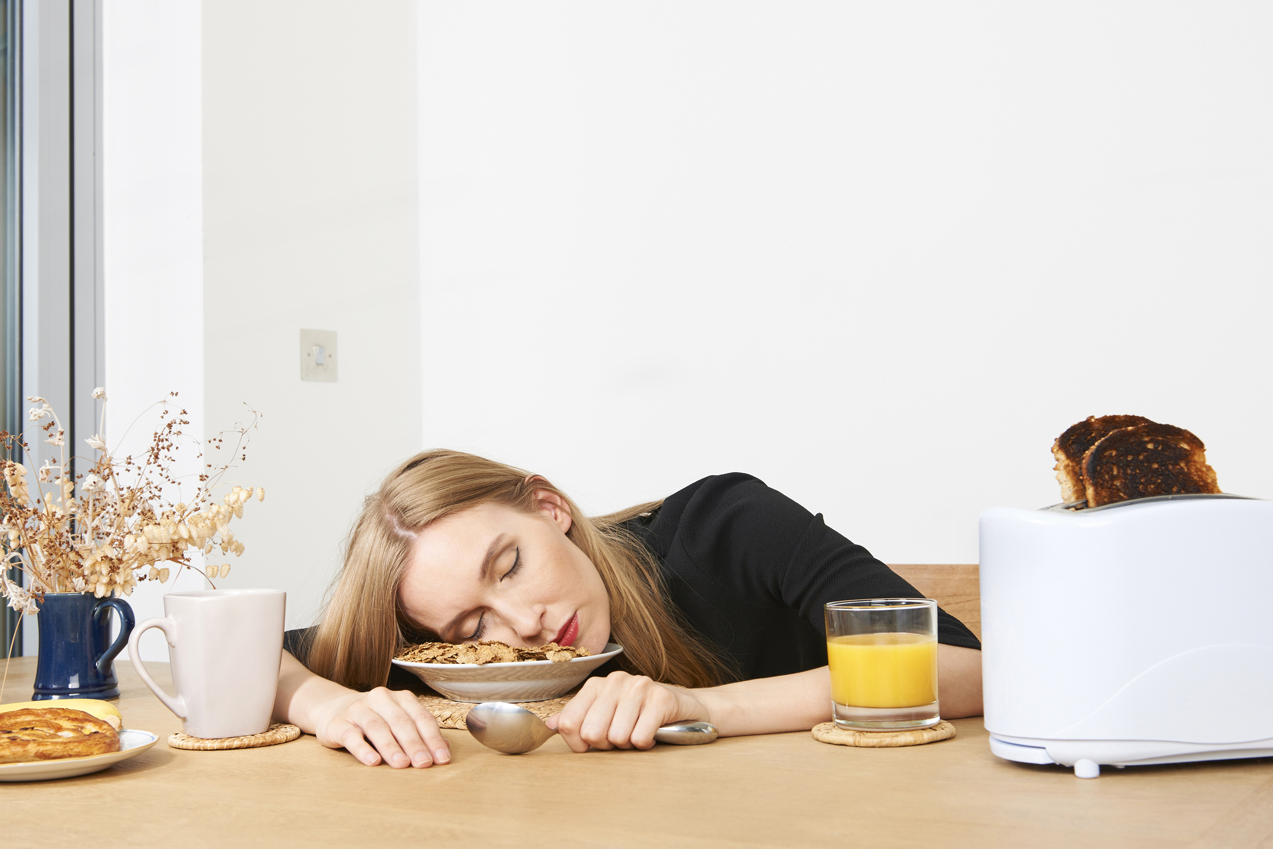 Shoot for ResMed 'Do it in bed' campaign 'Burnt Breakfast'