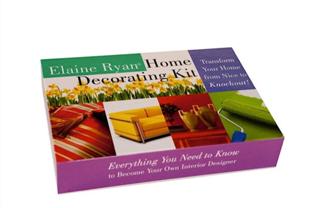 ELAINE RYAN® HOME DECORATING KIT   $89.95