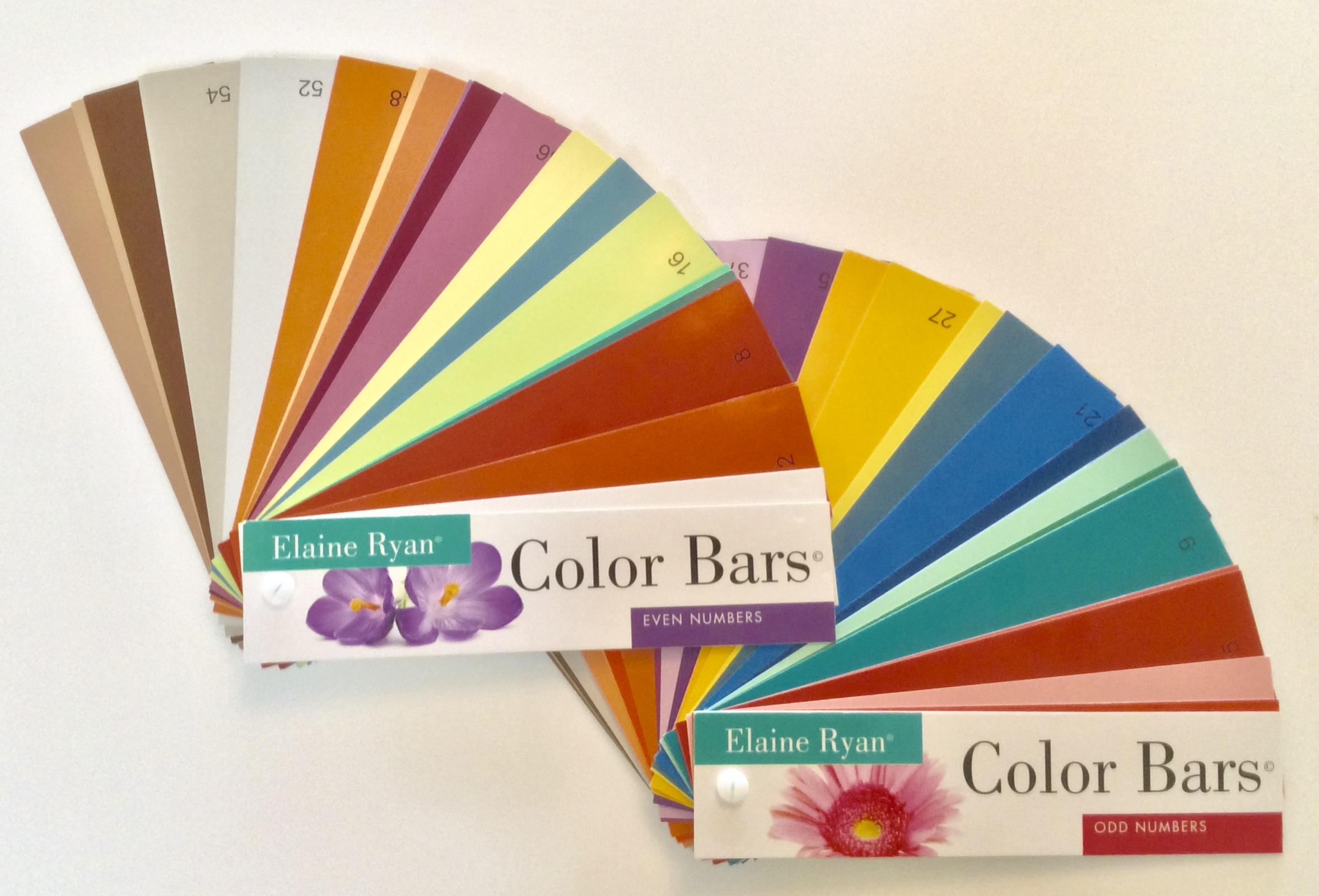 ELAINE RYAN® COLOR BARS $49.95