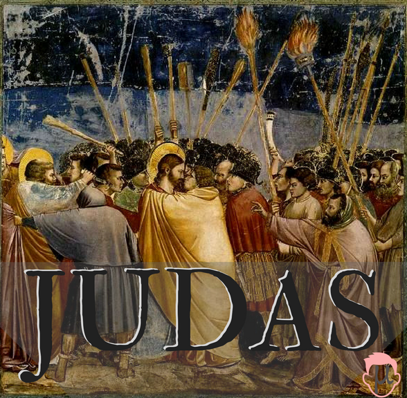 The Betrayal of Jesus, Giotto di Bondone, 1304