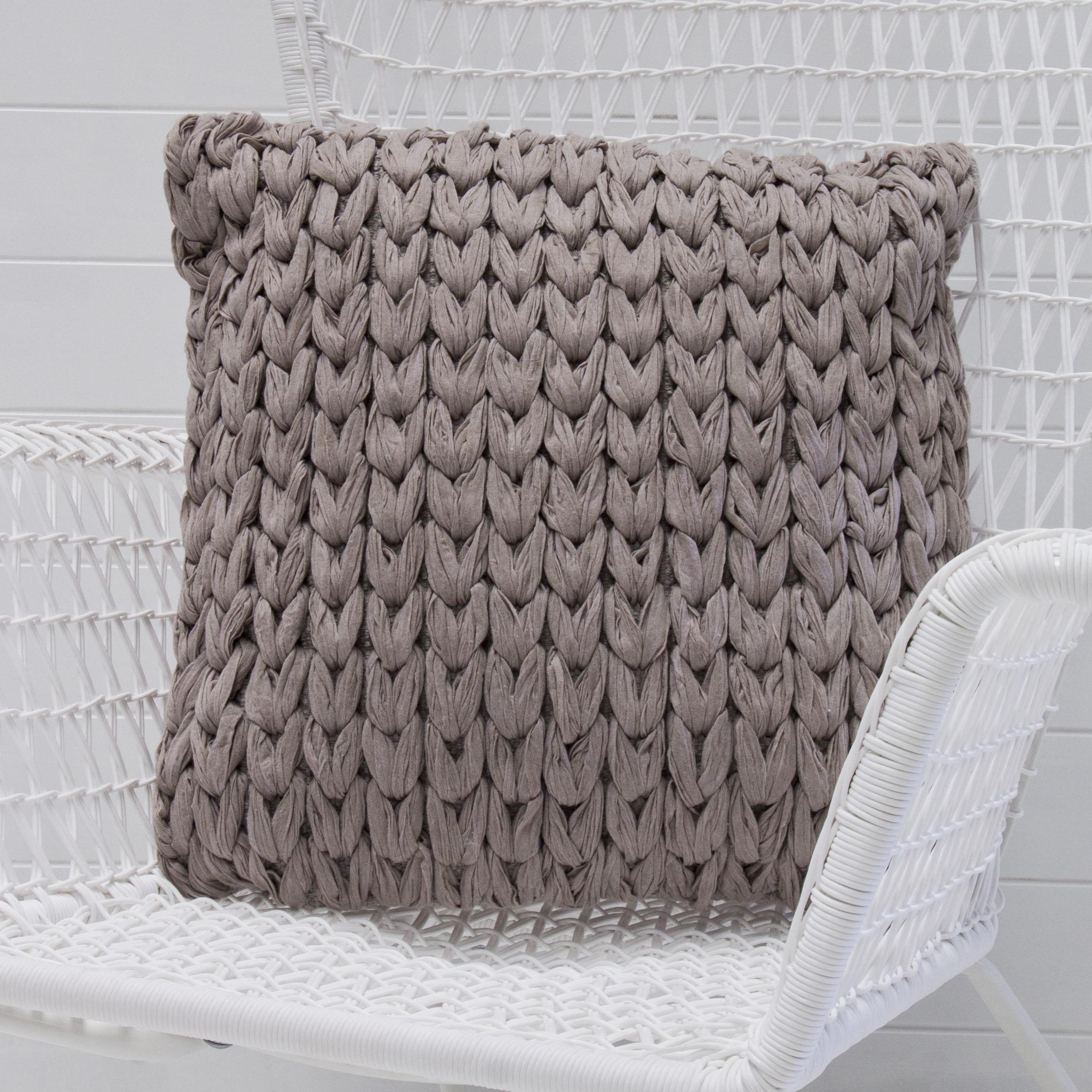 Taupe woolen cushion.jpg