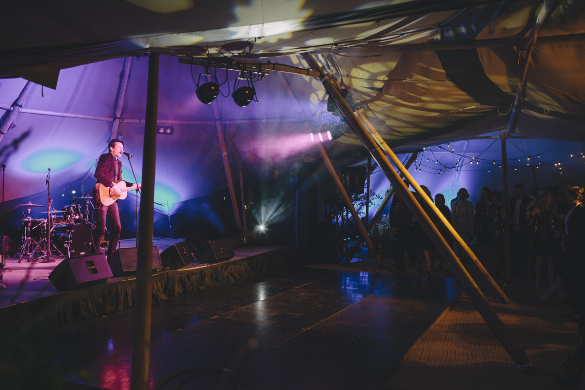 Paul Dempsey at nu pure 10 year anniversary