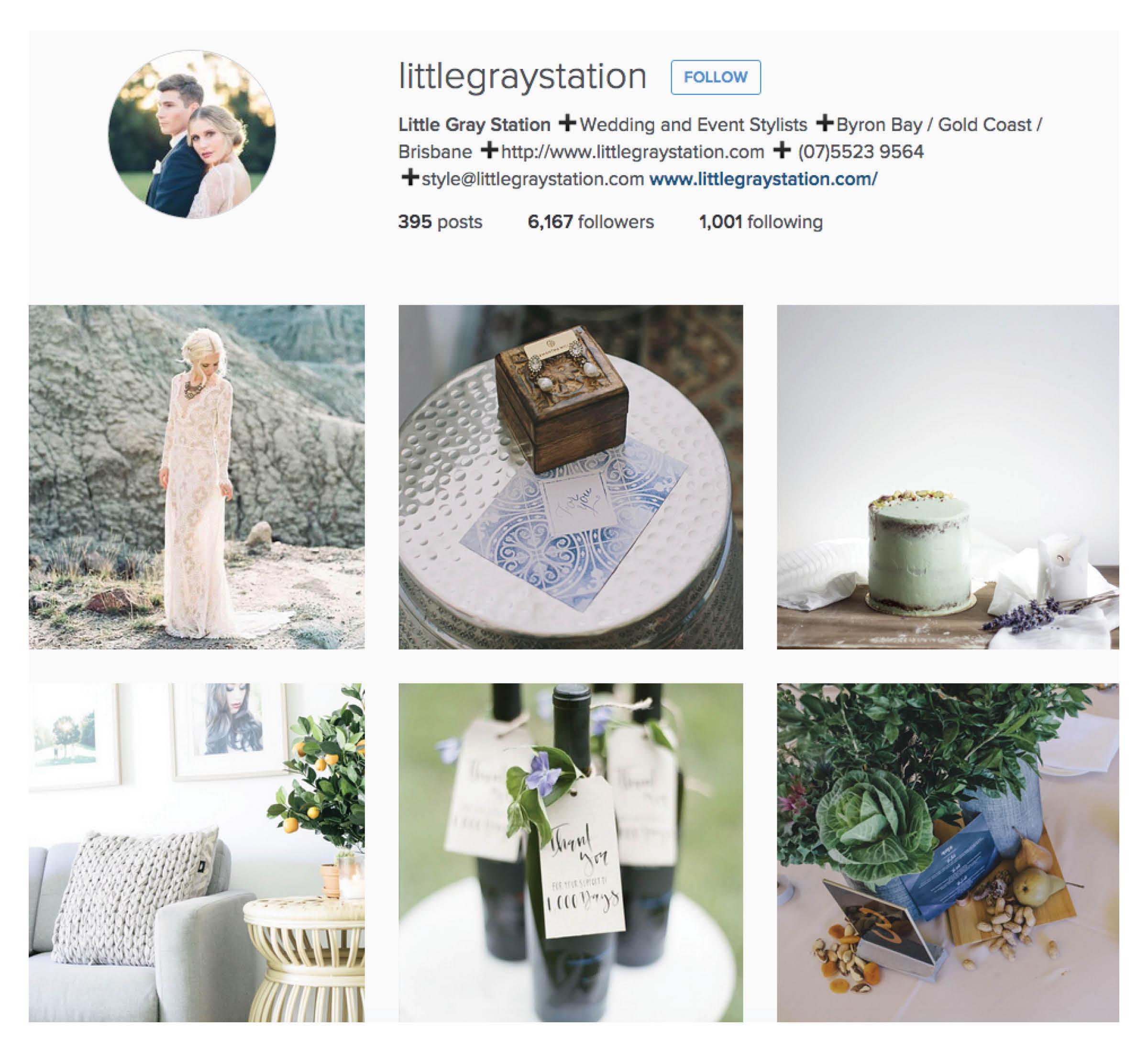 inspirational wedding instagram account