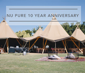 NU PURE 10 YEAR ANNIVERSARY CORPORATE EVENT STYLING SUNSHINE COAST