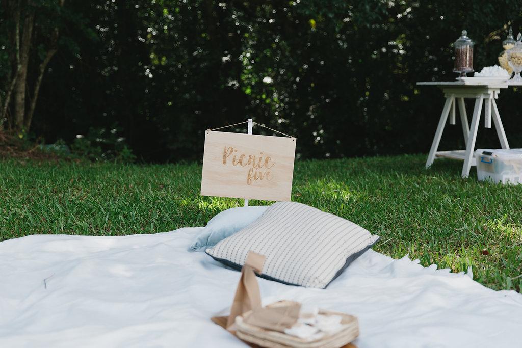 real wedding sunshine coast picnic reception