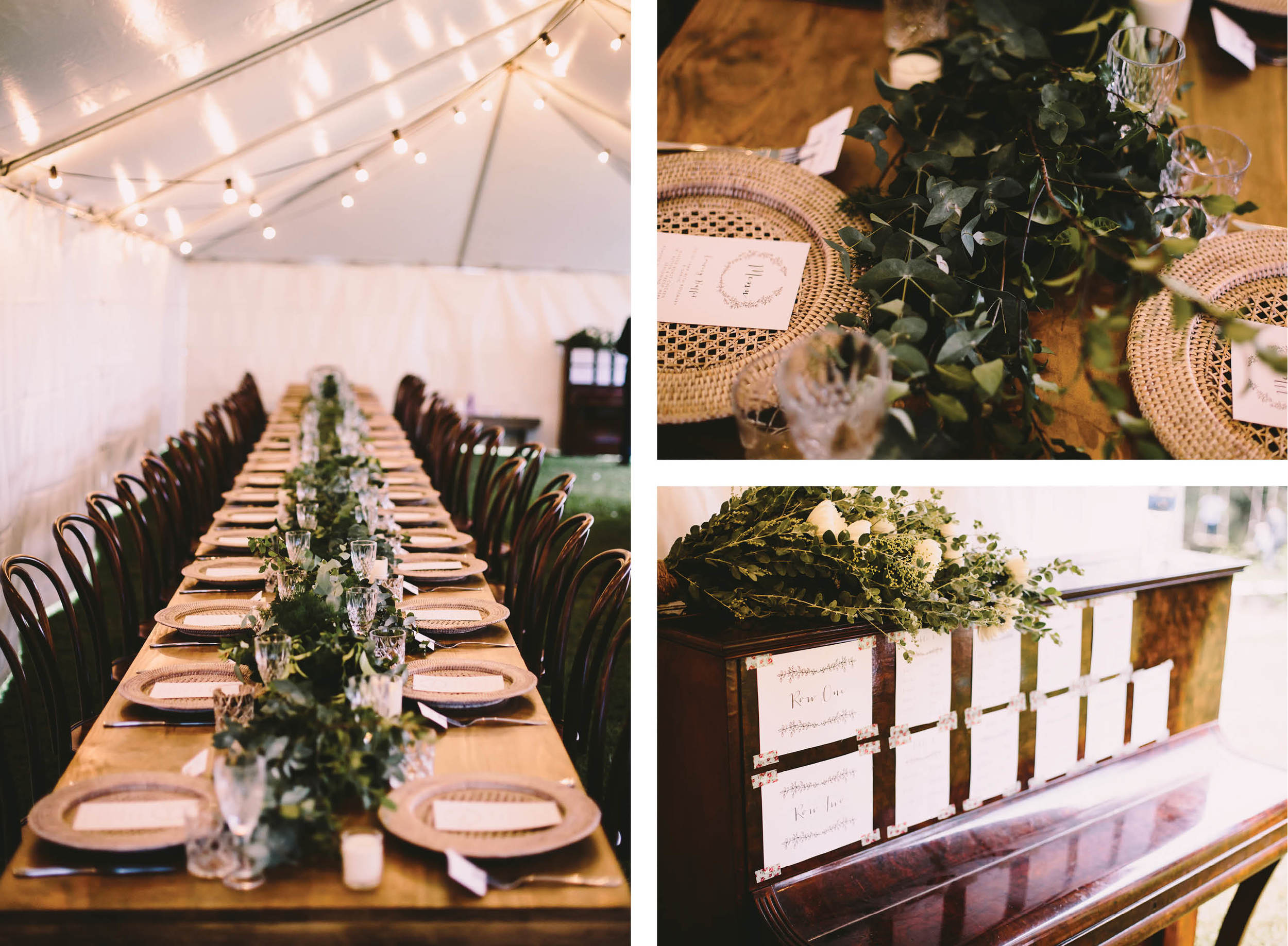 real rustic garden wedding gold coast styled by little gray station