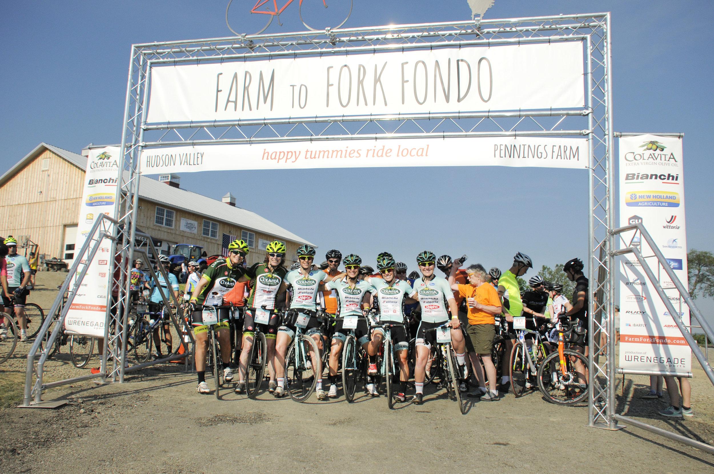 Team Colavita | BIanchi at Farm to Fork Fondo - Hudson Valley